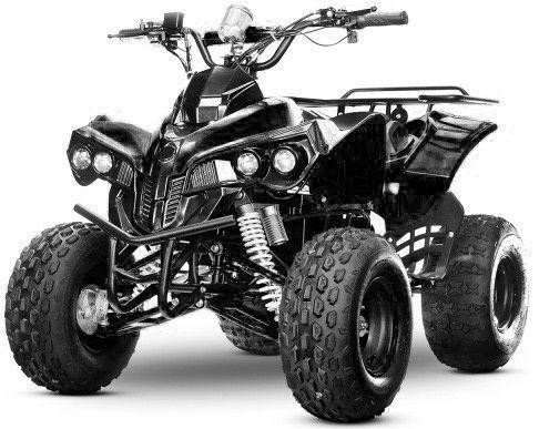 Quad ado électrique 1000W 48V noir Sprinter 8