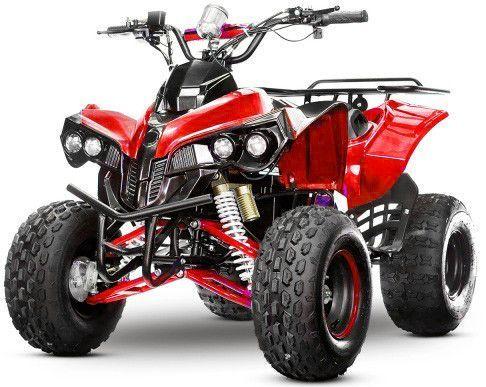Quad ado électrique 1000W 48V rouge Warrior 8