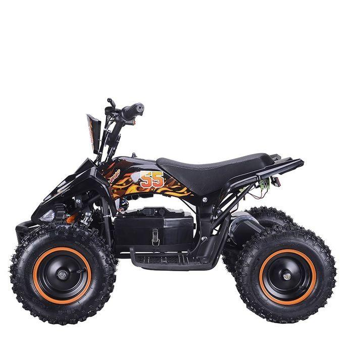 Quad électrique 800W Raptor orange avec LED - Photo n°5