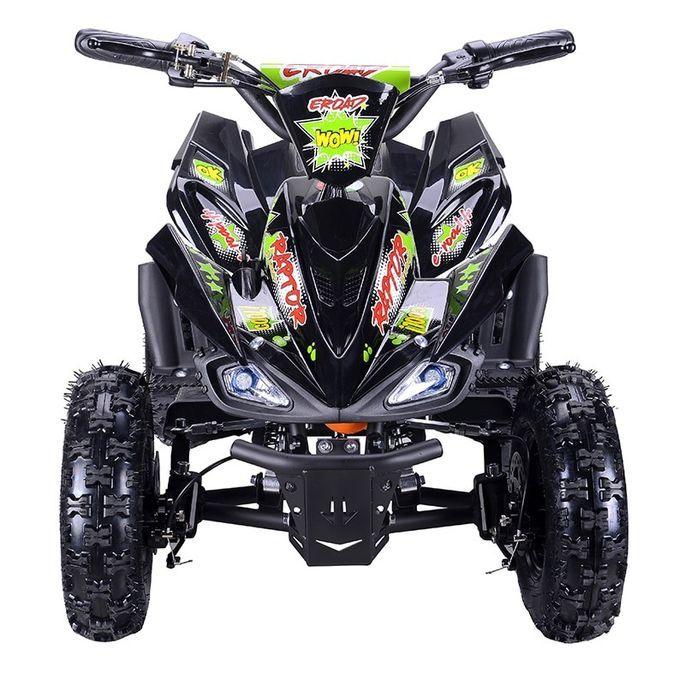 Quad électrique 800W Raptor vert avec LED - Photo n°2