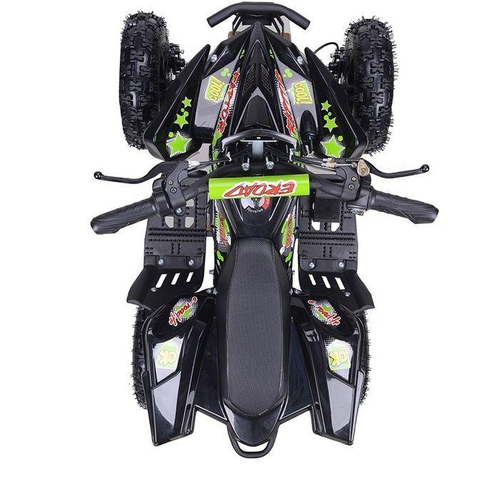Quad électrique 800W Raptor vert avec LED - Photo n°4