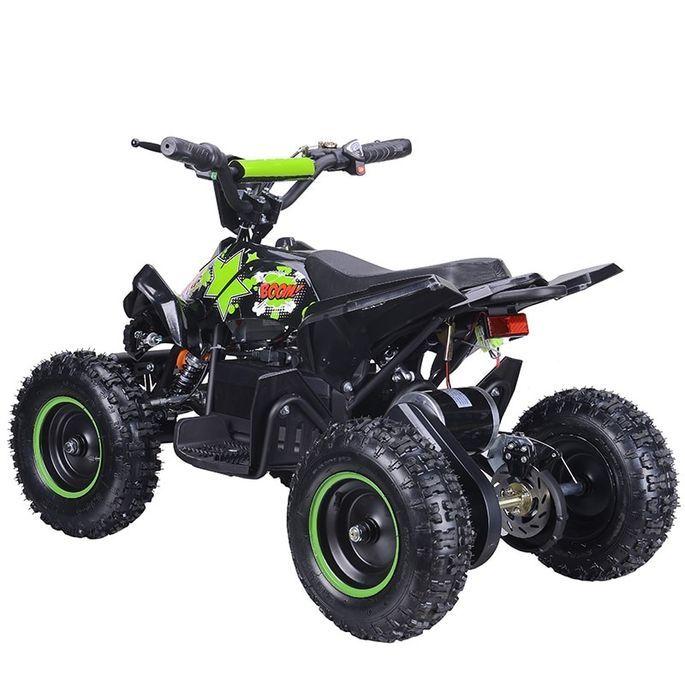 Quad électrique 800W Raptor vert avec LED - Photo n°5