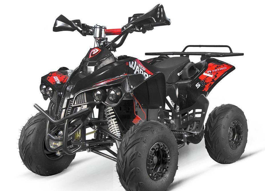 Quad électrique ado 1000W 48V rouge 7
