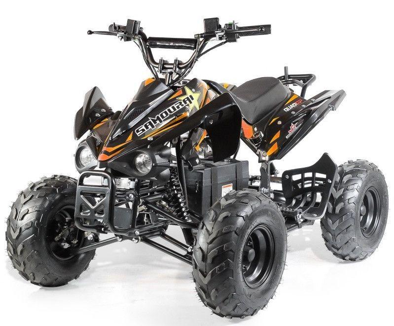 Quad électrique ado KX 750W brushless (1200W) orange - Photo n°1