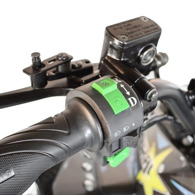 Quad électrique ado KX 750W brushless (1200W) vert - Photo n°5