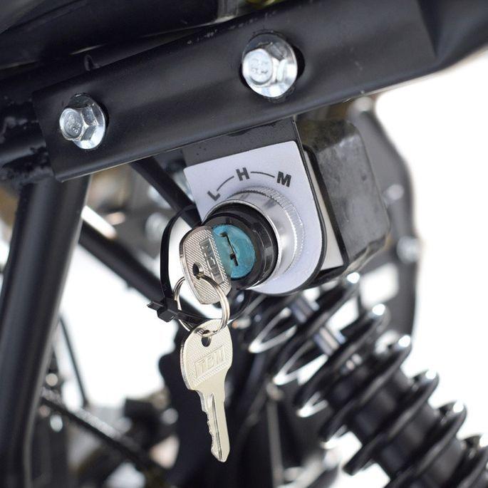 Quad électrique ado KX 750W brushless (1200W) vert - Photo n°11
