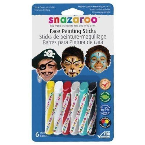 SNAZAROO Sticks peinture pour visage garcons - Photo n°1