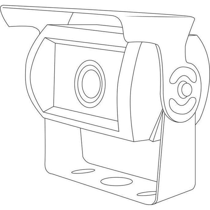 SNOOPER Caméra de recul RC60 + Transmetteur Wifi - Photo n°2