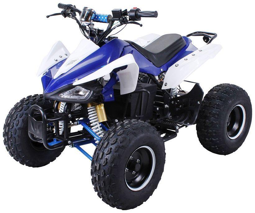Speedy 1000W 48V bleu 7 pouces Quad enfant électrique - Photo n°1