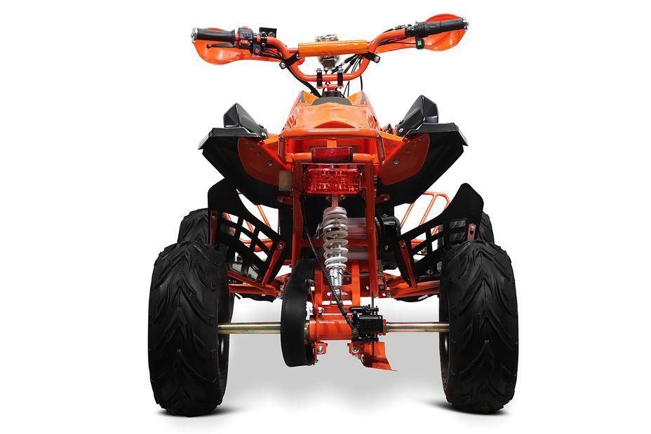 Speedy 1000W 48V orange 7 pouces Quad enfant électrique - Photo n°4