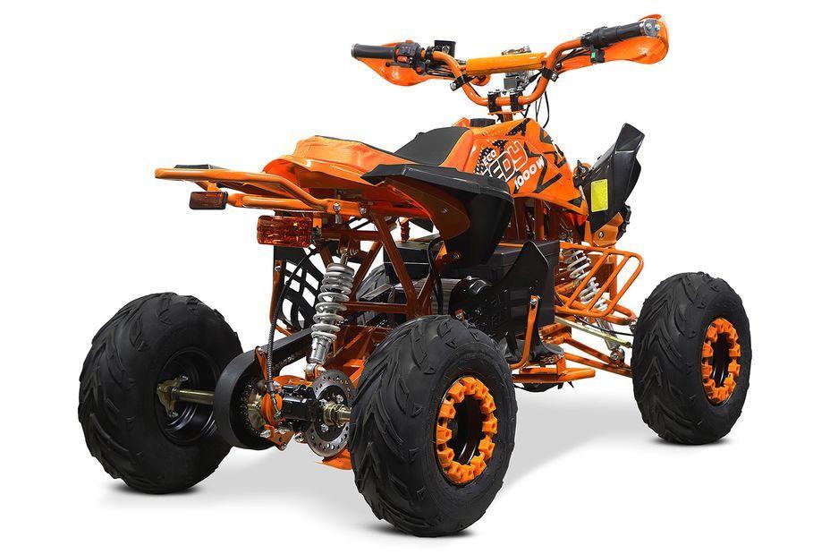 Speedy 1000W 48V orange 7 pouces Quad enfant électrique - Photo n°5