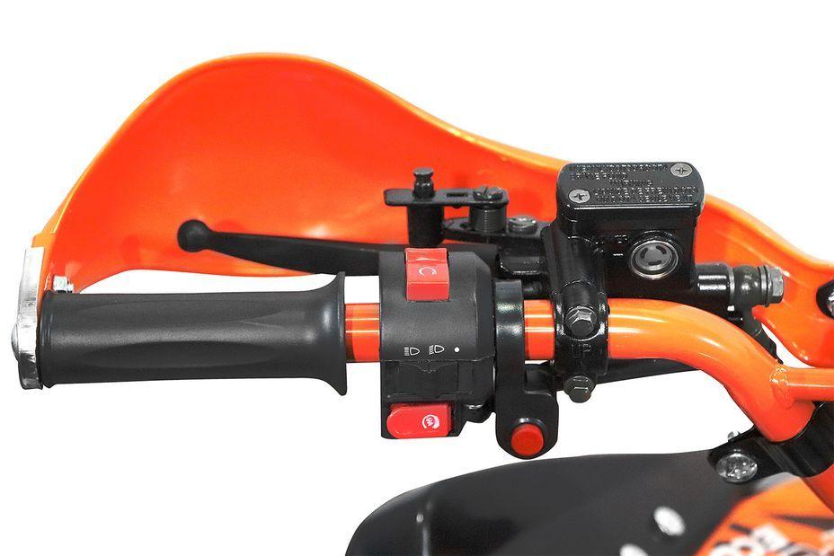 Speedy 1000W 48V orange 7 pouces Quad enfant électrique - Photo n°6