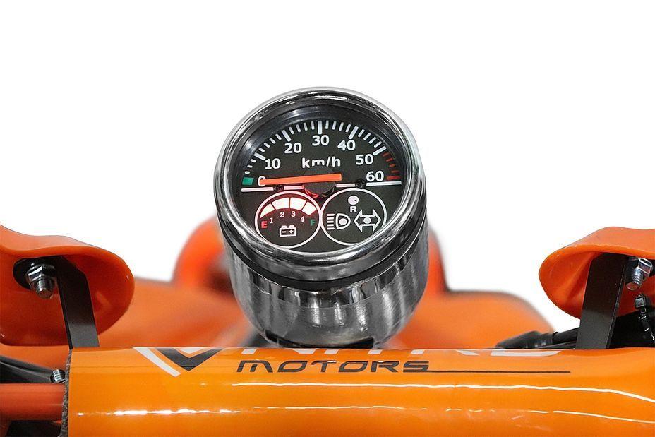 Speedy 1000W 48V orange 7 pouces Quad enfant électrique - Photo n°8