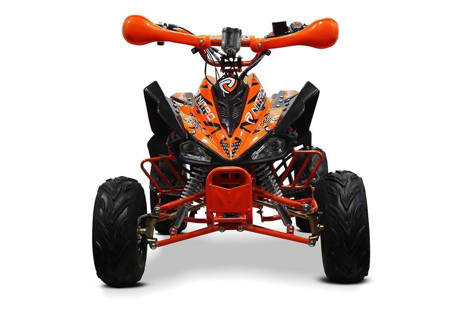 Speedy 1000W 48V orange 7 pouces Quad enfant électrique - Photo n°9