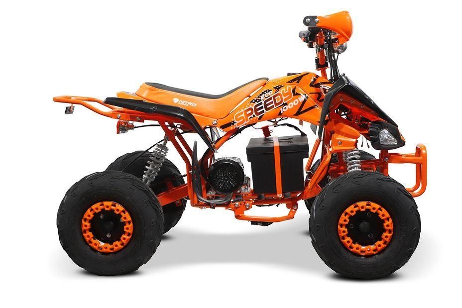 Speedy 1000W 48V orange 7 pouces Quad enfant électrique - Photo n°10