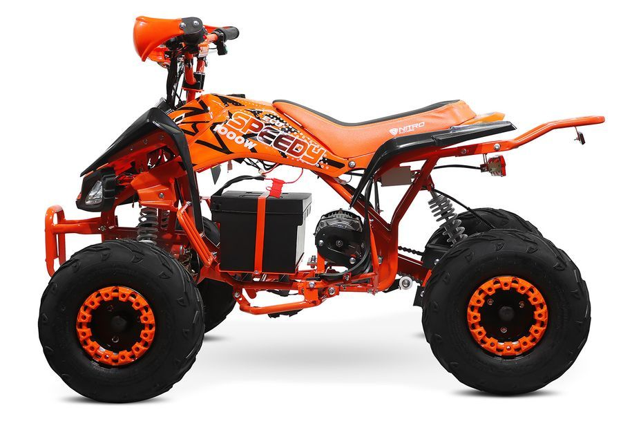 Speedy 1000W 48V orange 7 pouces Quad enfant électrique - Photo n°11
