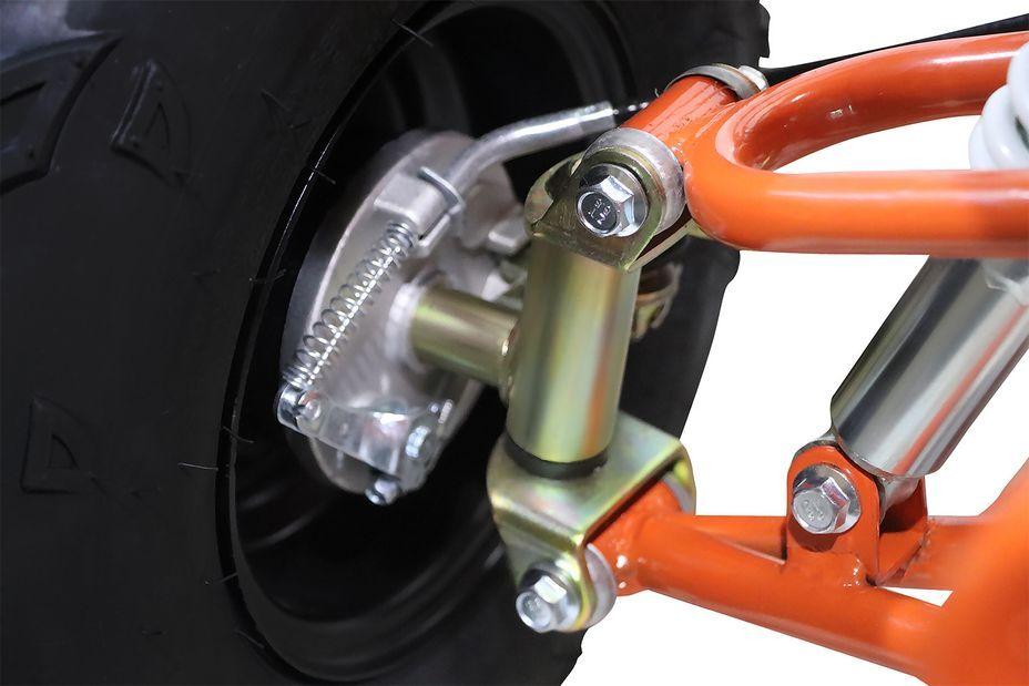 Speedy 1000W 48V orange 7 pouces Quad enfant électrique - Photo n°12
