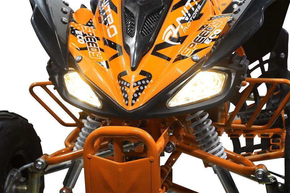 Speedy 1000W 48V orange 7 pouces Quad enfant électrique - Photo n°13