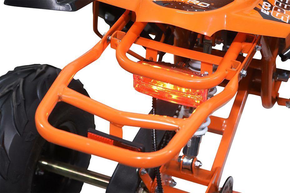 Speedy 1000W 48V orange 7 pouces Quad enfant électrique - Photo n°14