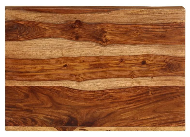 Table d'appoint en Z bois massif clair Kerry - Photo n°5