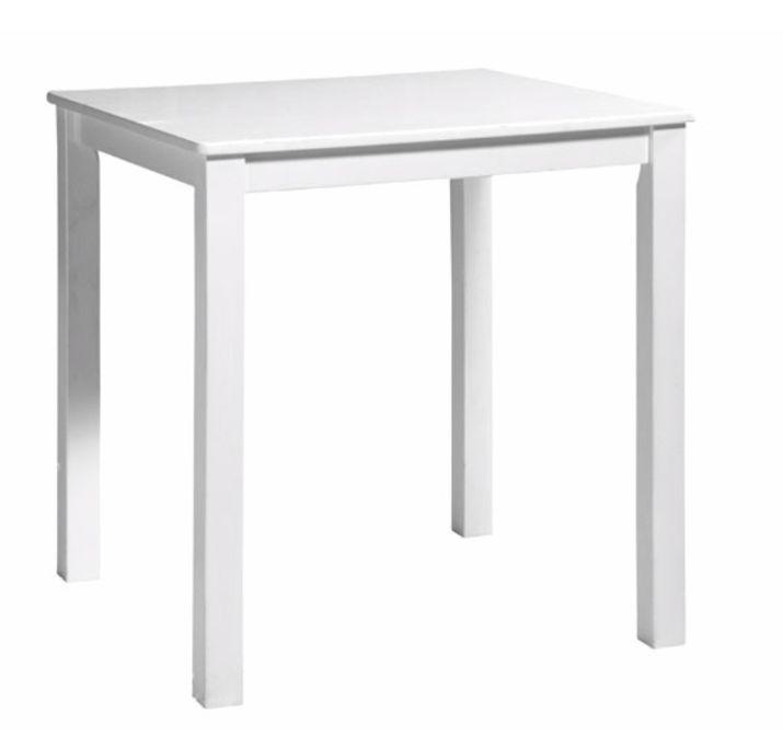 Table de jeu carrée enfant bois laqué blanc Mix & Match - Photo n°1