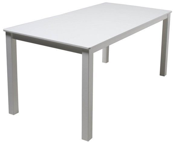 Table de jeu rectangulaire enfant bois laqué blanc Mix & Match 110 - Photo n°1