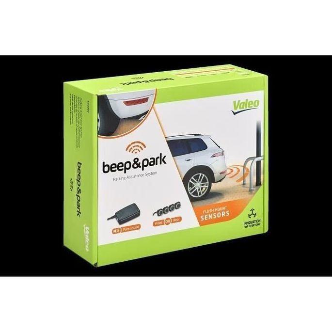 VALEO Kit radar de recul - Beep&Park - 4 capteurs en affleurement + haut parleur - Photo n°2