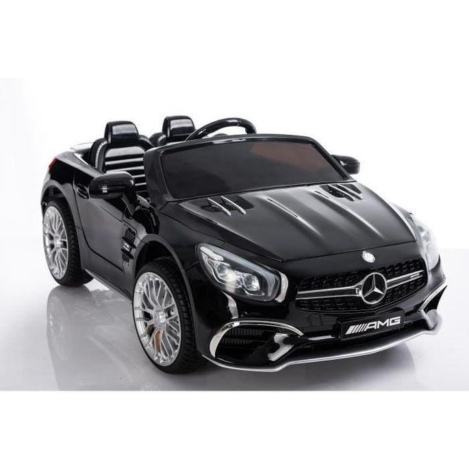 Voiture Electrique Enfant Mercedes SL 65 AMG - 12V - Roues gomme - MP3 - Photo n°2