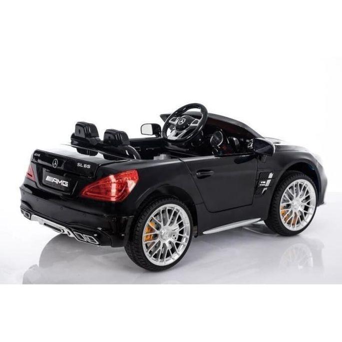 Voiture Electrique Enfant Mercedes SL 65 AMG - 12V - Roues gomme - MP3 - Photo n°3